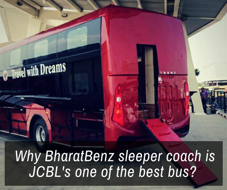 Bharat Benz Sleeper Coach