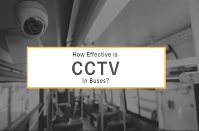 How effective is CCTV in buses?