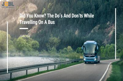 Did You Know? The Do's And Don'ts While Travelling On A Bus