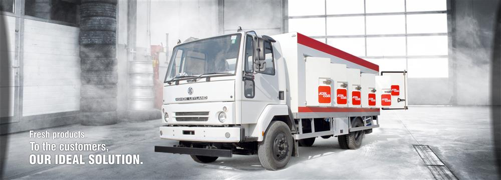 Refrigerated cargo van manufacturer india | JCBL Limited