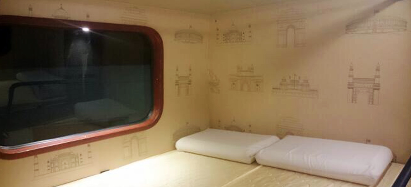 bharat benz sleeper coach interior