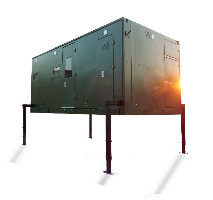 Caravan-Cum-Office containers are like mobile medical centres that can be set up on-site without requiring large scale construction or excessive healthcare supplies.
