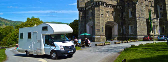 Enjoy a personal experience in motorhome