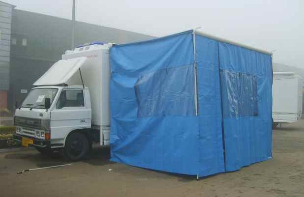 HMRI vans are like field hospitals that can be rapidly deployed in a populated area to treat a high number of patients requiring intensive care.