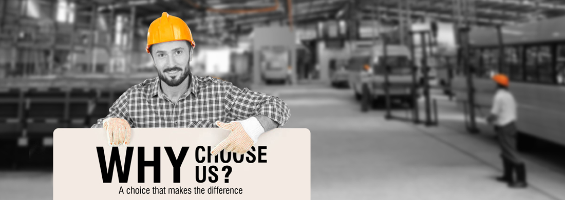 Why choose us- JCBL Limited