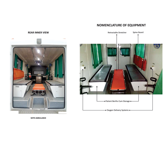 mitr ambulance features