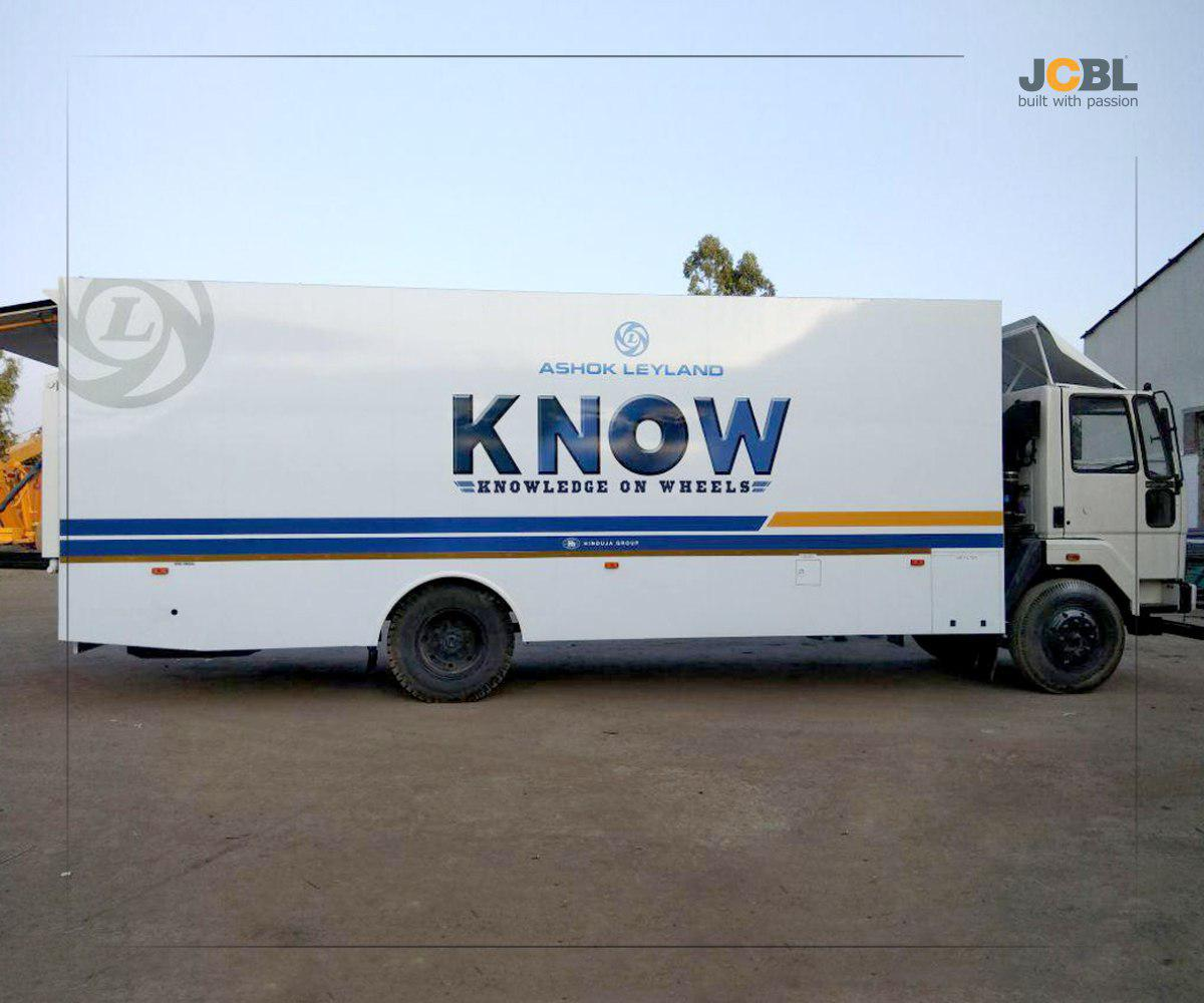 Knowledge on wheels by JCBL