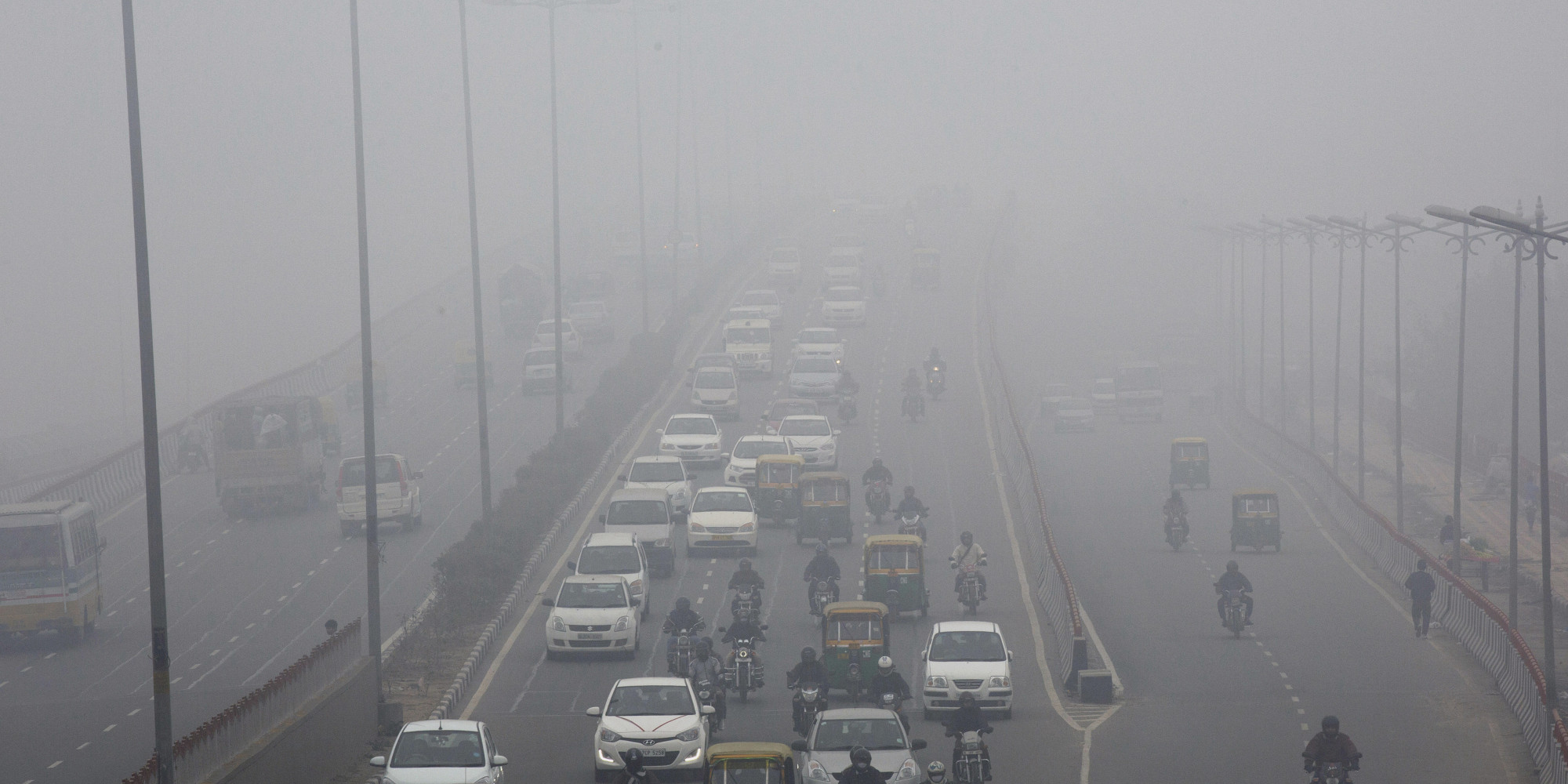 reason for smog in delhi