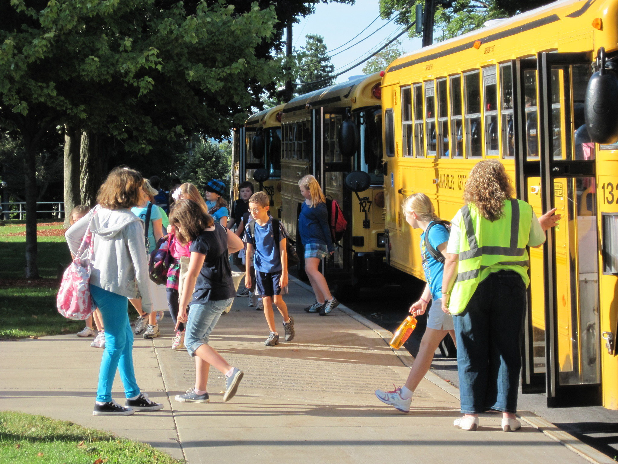 School buses - a safe way to travel