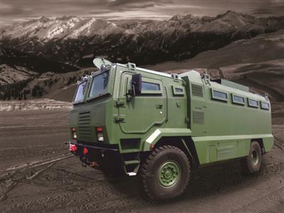VIP Armoured  vehicle