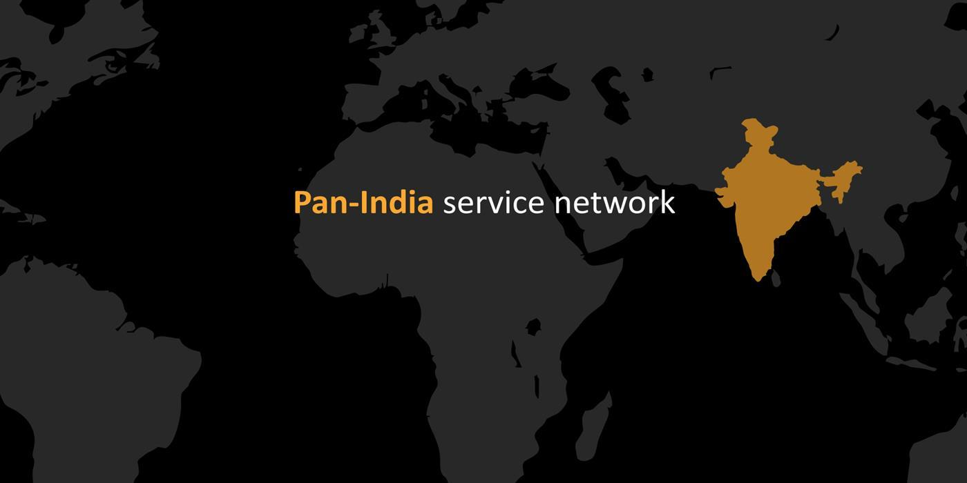 Pan-India Services network