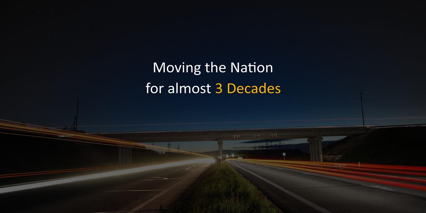 Moving the nation for almost 2 decades